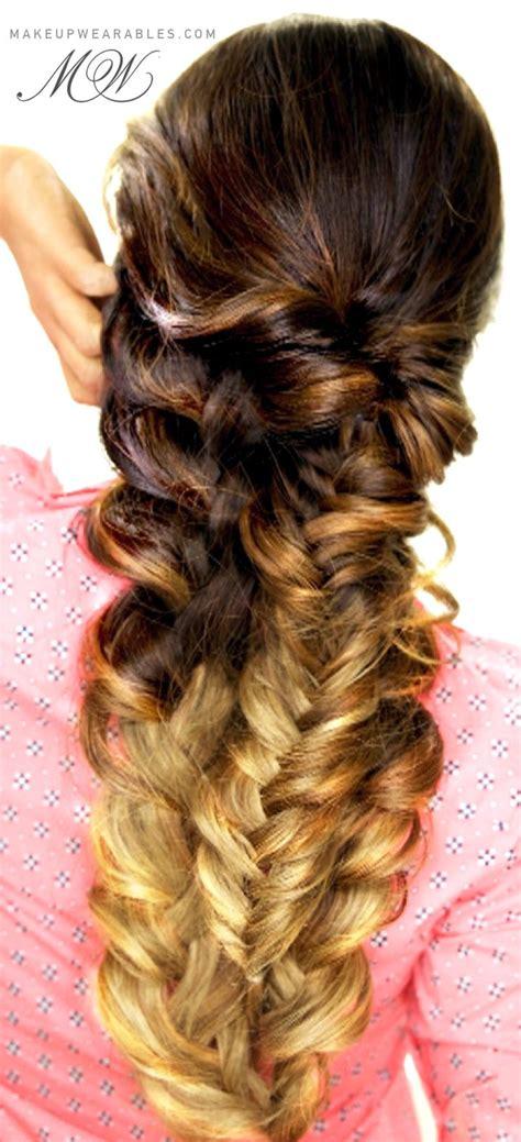 easy everyday hairstyles braids easy topsy tail braid hair tutorial cute everyday