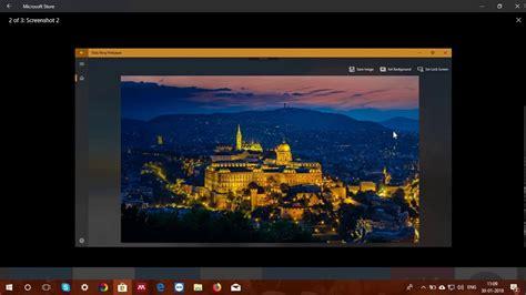 set bing daily image as desktop wallpaper in windows 10 to to set daily bing images as wallpaper youtube