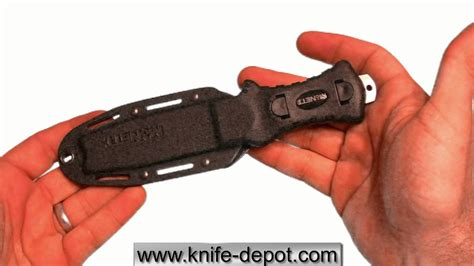 mcnett dive knife mcnett samish stiletto tip outdoor dive knife