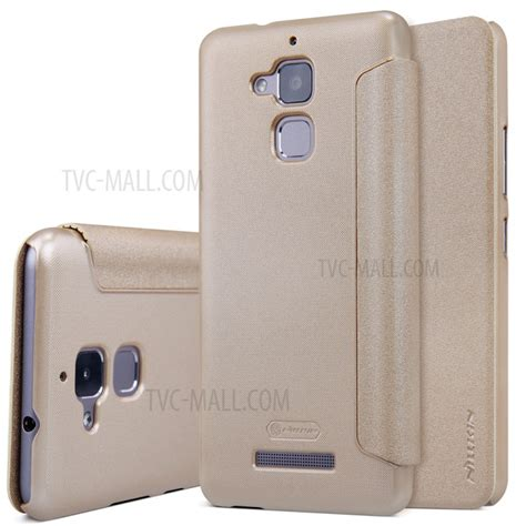 Flipcover Zenfone 3 Max Asus Zc520tl Flip Leather P159 nillkin sparkle series leather flip cover for asus zenfone