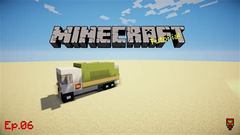 minecraft dump truck garbage truck minecraft tutorial ep 06 youtube