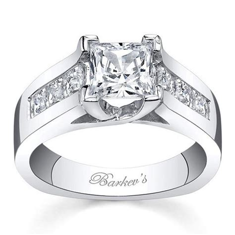 Ben Garelick Jewelers · Barkev's 14K White Gold Princess