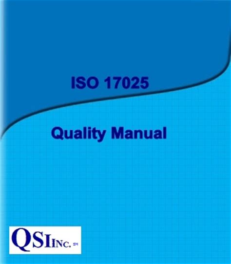 laboratory quality manual template iso 17025 2017 quality system for testing and calibration