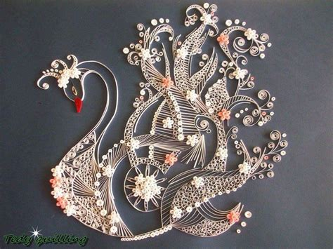 quilling swan tutorial 1443 best images about paper quilling on pinterest