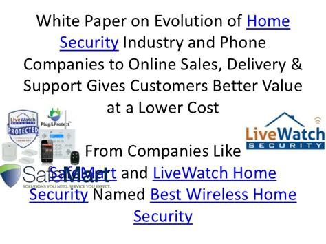 best home security system safemart livewatch interactive