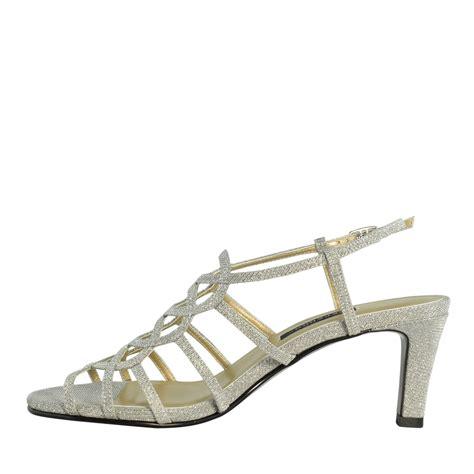 caparros a list low heel evening dress shoes