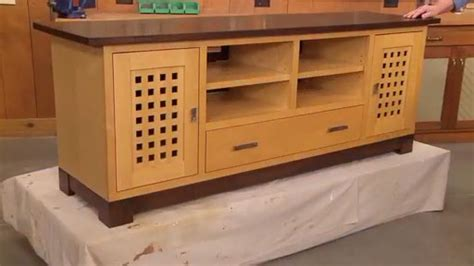 flat screen tv stand woodworking plans flat screen tv cabinet woodsmith plans