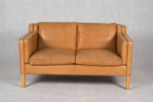 stouby 2 seater leather sofa