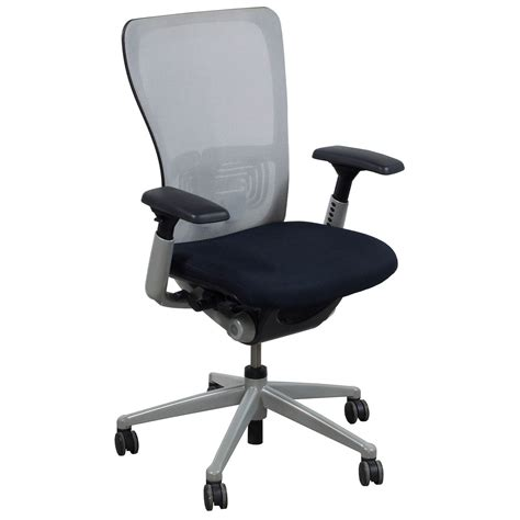 Haworth Chair by Haworth Zody Used Task Chair White Mesh National Office