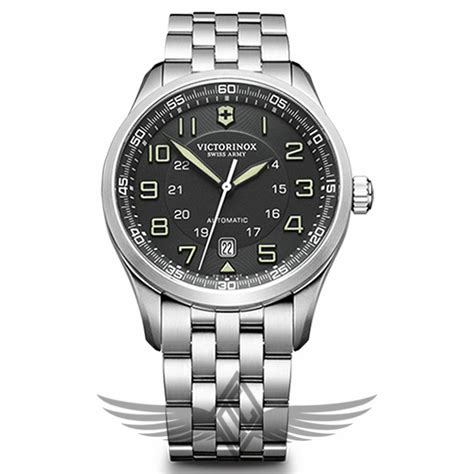 Victorinox Swiss Army AirBoss Mechanical Black Dial