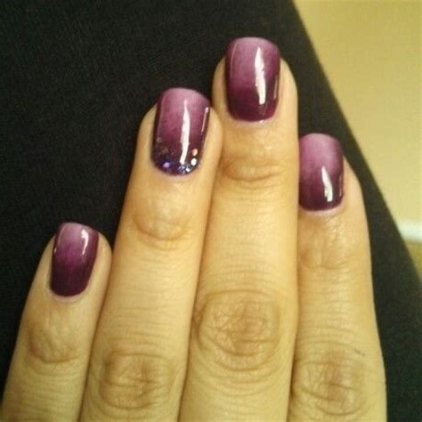 L For Gel Nails by Purple Ombre Gel Nail Nails