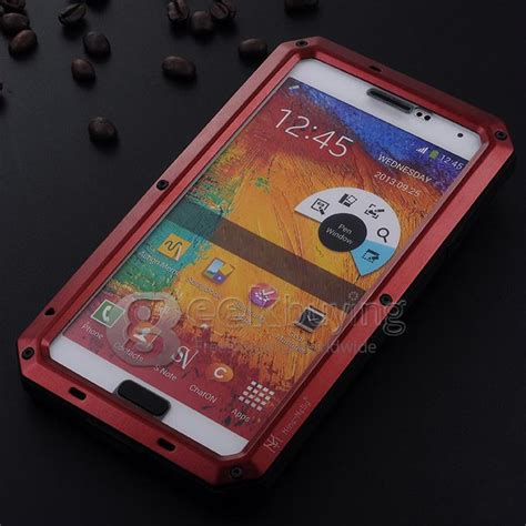 Silikon Geeks Note3 dirt shockproof gorilla glass for sumsung note 3 iii
