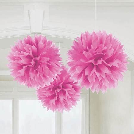 How To Make Tissue Paper Decorations - fluffy tissue paper decorations s