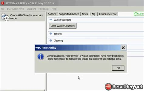 wic reset key v 3 75 90 how to reset canon g1400 error 5b00 waste ink counter
