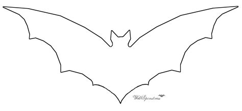 bat template printable martha stewart bats template