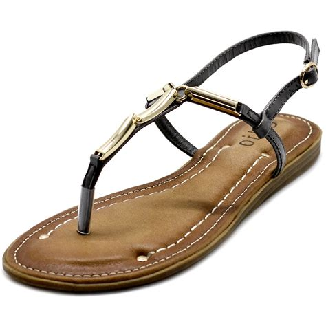 ollio s shoes metallic t comfort zori flat sandals