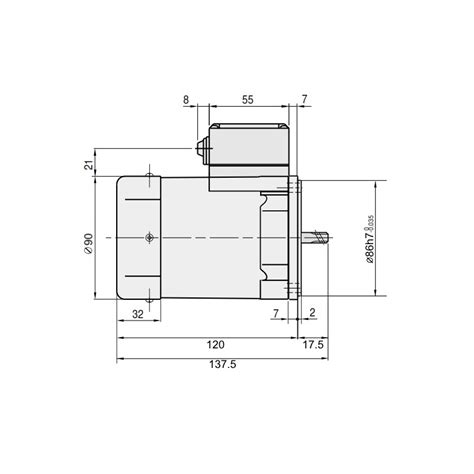 does induction lead to c section gpg 90mm 60 watt ac induction motor