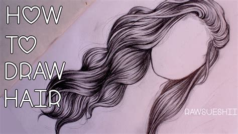 how to draw hairstyles how to draw hair step by step by lorre