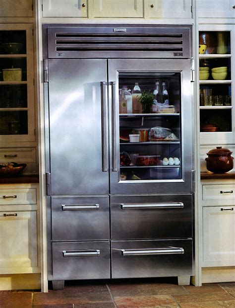 Sub Zero Refrigerator Glass Door Sub Zero Coolness The Pro 48 Refrigerator Kitchens The O Jays And Sub Zero