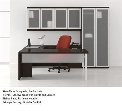 national office furniture waveworks casegoods with