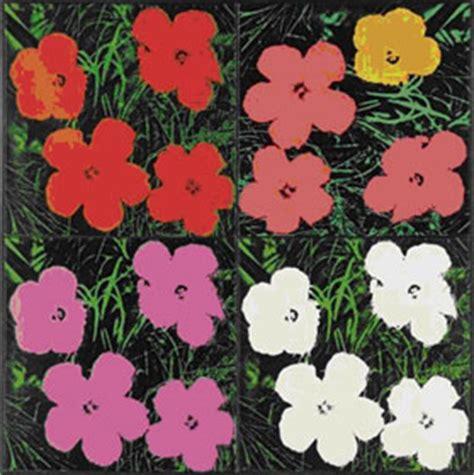 fiori di andy warhol ilsole24ore l asta sotheby s di new york un tributo a