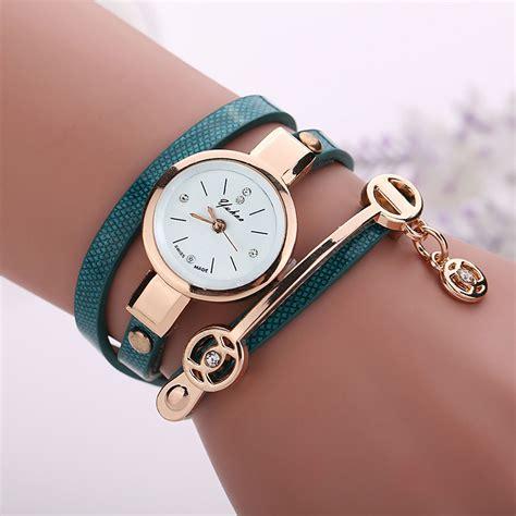 multilayer leather metal bracelets