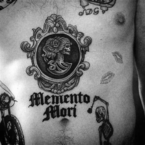 memento mori tattoo designs  men manly ink ideas