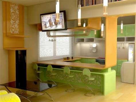 барные стойки для кухни 50 фото 7 идей как установить
