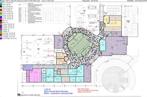 rehabilitation center floor plan rcc flooring llc our work drawings
