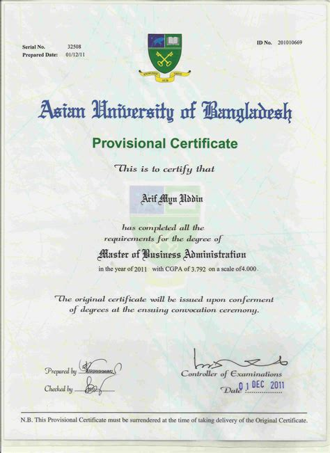 Mba Degree In Bangladesh by Arif Mynuddin Bayt