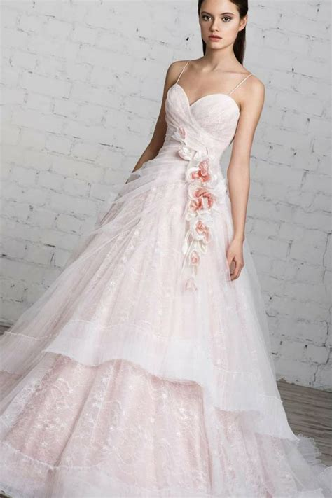 Wedding Dress Pink by Pink Wedding Dresses