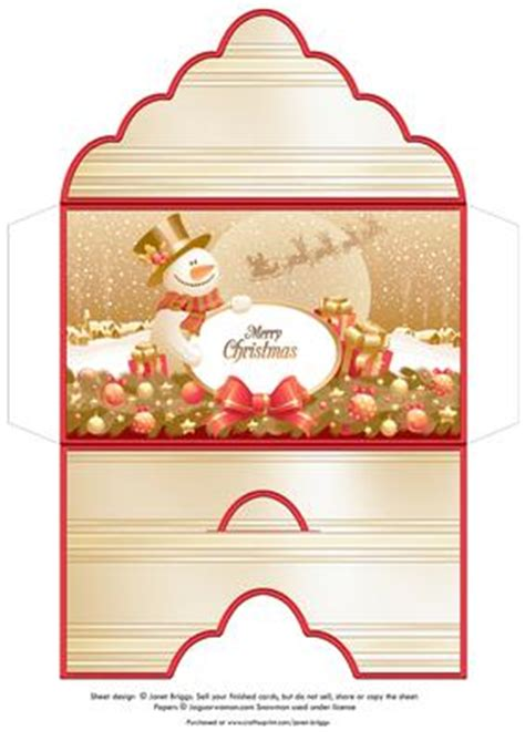 printable christmas money envelopes christmas money wallet envelope gold snowman cup379248