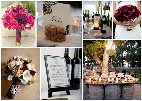 wine inspired wedding decor afloral com wedding blog