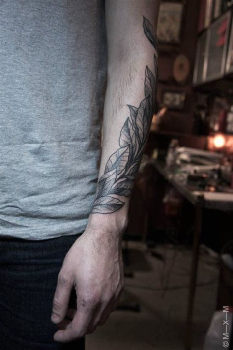 tattoo arm wrap 79 simple leaves tattoo design ideas for nature lovers