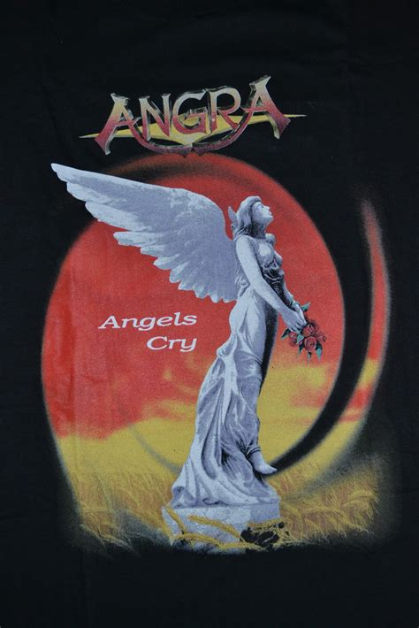 Angra T Shirt Size L oldschoolzone vintage 1993 angra cry tour t shirt