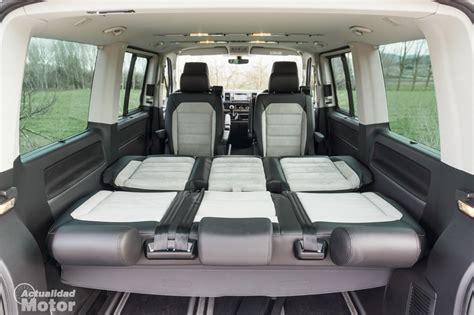 volkswagen multivan interior prueba volkswagen t6 multivan 2 0 tdi 150 cv la leyenda