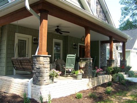 craftsman style porches 11 best cedar post on porches images on pinterest front