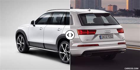 volvo versus audi volvo xc90 vs audi q7 rear three quarter comparison 3