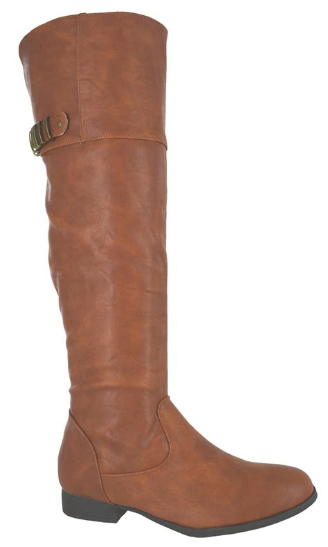 knee high boots without heel womens the knee high zip low heel flat