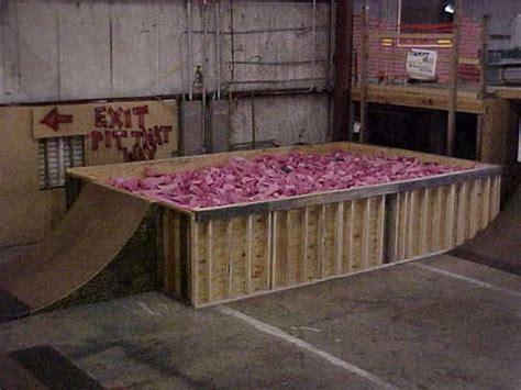 backyard foam pit 25 best ideas about troline room on