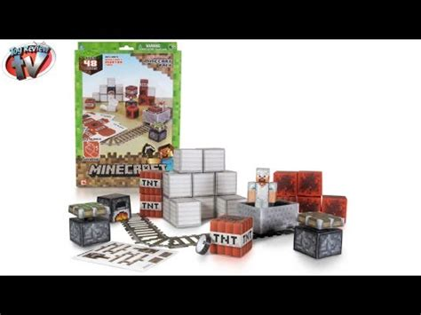 Minecraft Overworld Deluxe Papercraft Pack - minecraft overworld minecart pack papercraft review