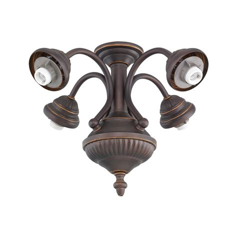 monte carlo ceiling fan light kit monte carlo 4 light bronze ceiling fan light kit