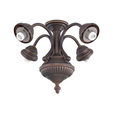 monte carlo fan light kit monte carlo 4 light bronze ceiling fan light kit