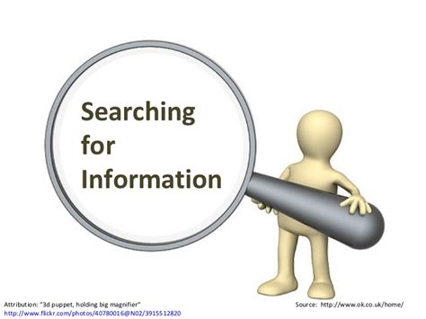 Searching For On How To Do Research Searching For Information On The