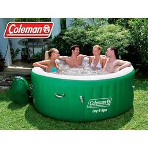 coleman lay z portable spa for 4 6 patio