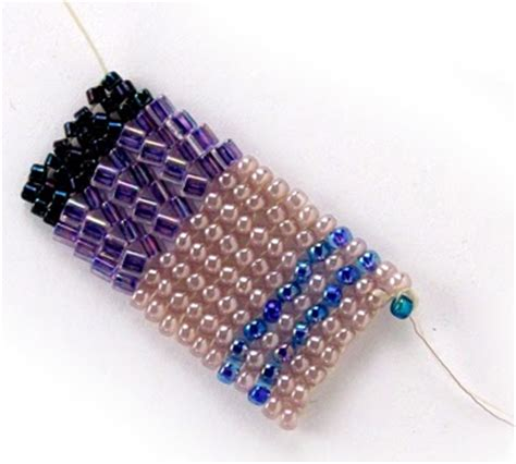 herringbone bead stitch free bead patterns and ideas flat herringbone bead
