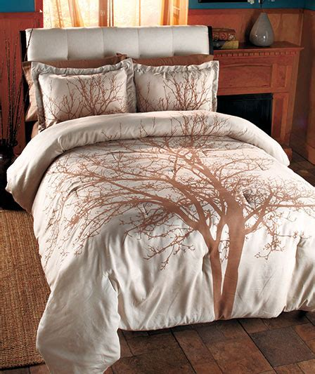 nature comforter sets queen home home winter tree