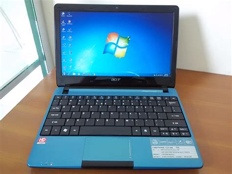 Dan Spek Notebook Acer Aspire One 722 acer aspire one ao722 sold out toko jual beli laptop