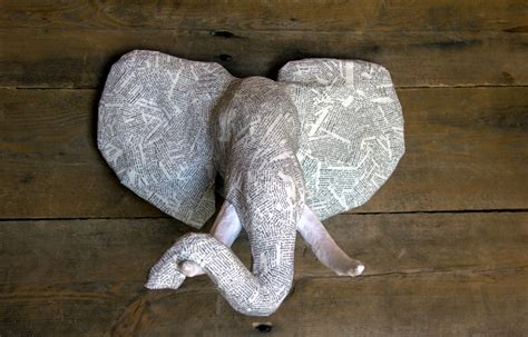 How To Make Paper Mache Animal Heads - faux animal heads paper mache images
