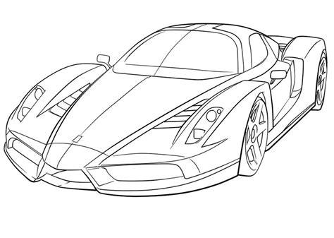 Coloriage 224 Imprimer V 233 Hicules Voiture Ferrari
